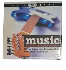 Music Quiz Game Hosted By Martin Kemp DVD Video Game Brand New Sealed