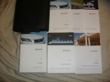 2016 LEXUS GS 350 OWNERS MANUAL NAVIGATION BOOKS  LEATHER CASE
