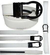 "Women's belt. Leather Dress Belt. Ladies Comfort Auto Lock New buckle up to 43"""