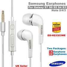 100% Genuine Earphones Headphones for Samsung Galaxy S3 S4 S5 S6 S7 S8 Note 4/3