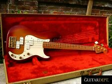 ♚AMAZING♚Vintage 1983 FENDER American PRECISION BASS ELITE II♚SUNBURST♚Active EQ
