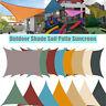 Sun Shade Sail Garden Patio Sunscreen Awning Canopy Shade 98%UV Block Waterproof