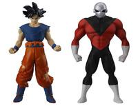 BANDAI DRAGON BALL Z Super Skills Figure 01 Son Goku & Jiren Japan import NEW