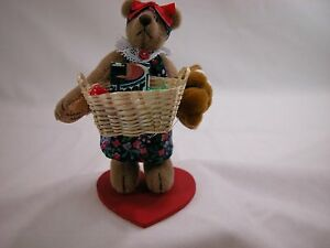 "World of Miniature Bears By Theresa Yang3.5"" Woman's Work #1042 CLOSING FEW LEFT"