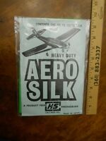 K & S  AERO SILK GREEN, 1 SQUARE YARD, NEW IN PACKAGE