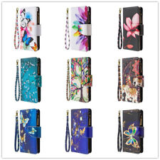Girly Floral Leather Flip Card Holder Wallet Purse Case For LG Stylo 7/6/5 2021