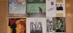 Schallplatten Single Sammlung Bowie U2 Depeche Mode Eurythmics Dire Straits ELO