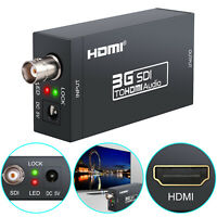 SD-SDI HD-SDI 3G-SDI to HDMI Audio Converter Adapter 1080P For HDTV HD monitor