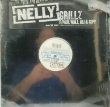 NELLY Grillz Single Featuring Paul Wall, Ali, and Gipp Vinyl LP Single