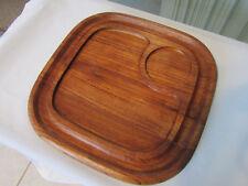 Goodwood Teak Wood Chip & Dip Cheese Platter
