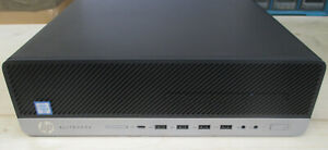 HP EliteDesk 800 G3 Core i5-6500 3,20GHz, 500GB HDD 8GB RAM - SSF PC Win10
