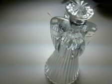 1992 Avon Glowing Angel Crystal Candlesticks, Nib, 24% Full Lead Crystal