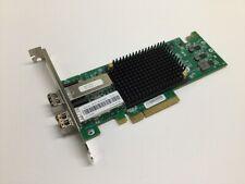 Emulex OCE11102 2-Port PCI-e 10GB SFP Twinax adapter Server Card with (2x) SFP's