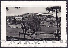 GENOVA SANTO STEFANO D'AVETO 15 Cartolina FOTOGRAFICA viaggiata 1956