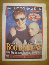 MELODY MAKER 1995 FEB 18 BOO RADLEYS PEARL JAM SUEDE L7