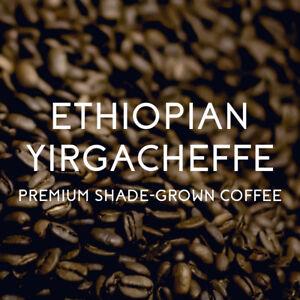 5 lbs. Ethiopian Yirgacheffe Misty Valley Natural Process Medium/Dark Coffee Bns