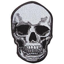 Skull Ghost Skeleton Tribal Rocker Biker Motorcycle Tattoo Iron-On Patches SK048