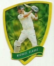 2009/10 Select Cricket Australia DIE CUT FDC3 MICHAEL CLARKE TEST TEAM CARD ACA
