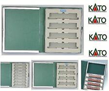 KATO 10-212 BOX CONTENITORE RACCOGLITORE 4 POSTI TRENI VAGONI LOCOMOTORI SCALA-N