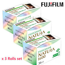 FUJIFILM 1600-N 36EX NATURA 1600 Color film 3 Rolls SET  Production has ended
