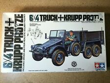 Tamiya 1/35 German 6x4 Krupp Protze Truck #Mm204A 1970's Factory Sealed Parts