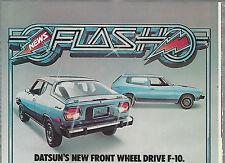 1976 Datsun F-10  advertisement, DATSUN F10 ad, Hatchback & Sportwagon