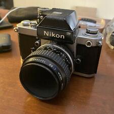Nikon F2 Photomic DP-1 Argento + obiettivo Micro-Nikkor 55/3.5
