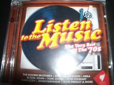 Listen To The Music: Very Best Of The 70s By SBS Various 2 CD – New