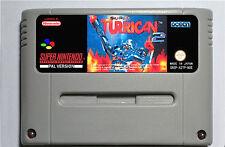 Super Turrican 2 SNES game Super Nintendo PAL neuf
