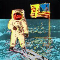 "ANDY WARHOL Pop Art Poster or Canvas Print ""Moonwalk"""