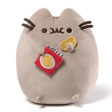 New Gund 9.5 inch Stuffed Pusheen Potato Chips - Gray Model:25320591