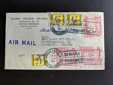 1955 Dominican Republic Sc C90 (3) rotary intl, Malaria postal tax stamp