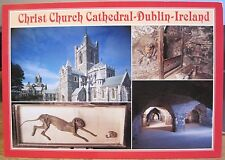 Irish Postcard CHRIST CHURCH CATHEDRAL Dublin Ireland Multiview John Hinde 2310
