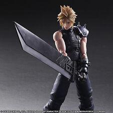 Original Play Arts Final Fantasy VII Remake Cloud Strife Action Figure No Box