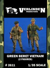 Verlinden 1:35 Green Beret Vietnam - 2 Resin Figures Kit #2611