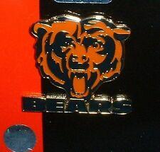 CHICAGO BEARS Lapel PIN Bears Face LOGO Brass NFL