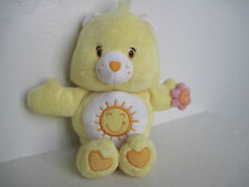 "Care Bears Baby Funshine Bear W/ Flowers 9"" Plush Stuffed Animal"