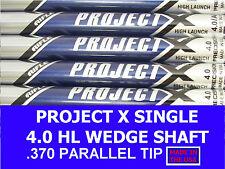 Rifle Project X Single Wedge Shaft 4.0 Senior/Soft Regular 370 Parallel Chrome