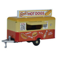 Oxford Diecast NTRAIL001- Bob's Hot Dogs Mobile Trailer - 1:148 Scale