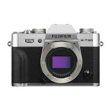 Fujifilm X-T30 Digital Compact System Camera Body - Silver - Genuine UK Stock