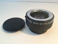 Focal Auto 2X Teleconverter for Minolta M/MD
