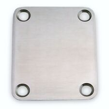 Callaham Satin Stainless Steel Neck Plate without Serial Number