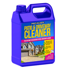 PATIO CLEANER STONE CONCRETE SLABS FLAGS PATH BLOCK PAVING DRIVE CLEANING 5 L
