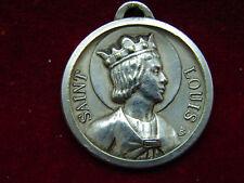 Jolie ancienne médaille SIR JEHAN DE JOINVILLE, SAINT LOUIS