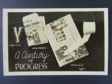 A Century of Progress Toilet Paper Newspaper Funny Real Photo Postcard Rppc 1938
