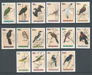 BAHAMAS QEII 1991 SG892/907 set of 16 Birds - unmounted mint. Catalogue £60