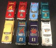 Vintage MAJORETTE 8 cars LOT VARIATIONS: 57 Chevy ! Rare Lot!!! Cheetos Fifties