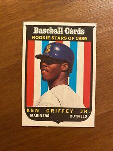 1989 Baseball Cards Magazine #63 Ken Griffey Jr Rookie RC Mariners