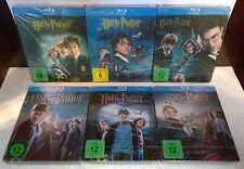 Harry Potter 1-6  (2011, Germany, Region Free) 6pc Collection Steelbooks NEW
