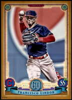 Francisco Lindor 2019 Topps Gypsy Queen 5x7 Gold #94 /10 Indians